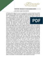 SELEÇAO NOTICIAS DIREITO ADMINISTRATIVO INFORMATIVOS STF nº 607 a 612