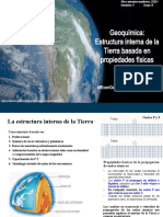 Geoquimica_Semana 05 - Estructura Interna de la Tierra_Propiedades Fisicas_200707