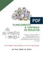 Gestão de Projetos - PMI - Planejamento & Controle de Projetos