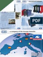 ELBA international catalogue