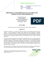 PRINCIPLES AND HARDW ARE OF ELECTROLYTIC CONDUCTIVITY MEASUREMENTS