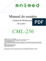 Manual Central de Monitorizaçao de Leitos CML-256