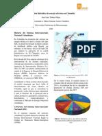 Generación hidráulica de energía eléctrica en Colombia