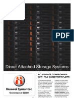 Huawei Symantec Direct Attached Storage systems for Media Applications