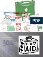 First Aid Report.pptx
