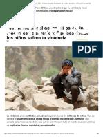 Día Internacional de los Niños Víctimas Inocentes de Agresión_ los 6 países donde más niños sufren la violencia