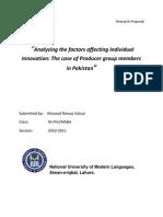 Research Proposal-  Masood Kalyar