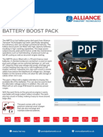 ABP-TR1224 Battery Boost Pack Technical Sheet 18.08
