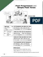 past tense vs past progressive  gram exp