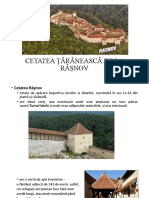 CETATEA ȚĂRĂNEASCĂ DE LA RÂȘNOV