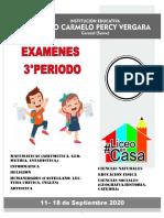 GRADO 4 EXAMEN III PERIODO 2020