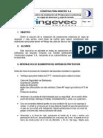 Procedimiento de instalacion de protecciones colectivas en cajasde asensor y caja de escala