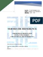 TDR cérémonie de lancement AAC (draft amendé)
