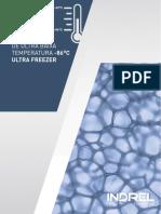Catálogo Ultrafreezer -86ºC - versão 01.2016