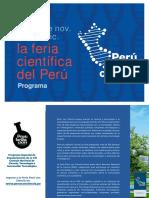 Programa Feria Perú Con Ciencia