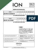 Denon Avr-5308ci Avc-A1hd Ver 7