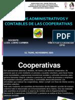 Aspectos administrativos y contables de las cooperativas