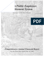 Oregon Public Employees Retirement [PERS] 2001