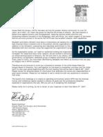 HFTH Board Invitation Package