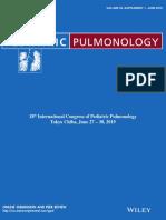 Pediatric Pulmonology 1