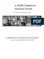Oregon Public Employees Retirement [PERS] 2003