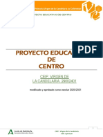 proyecto educativo modificado curso 2020-21