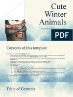 Cute winter animals by Slidesgo.pptx