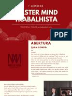 MMTRAB - Apresentação e Palestra de MKT Jurídico com Gicelli Paixão