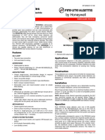 DF-52384 SD355(A) Series Addressable Photoelectric Smoke Detectors DataSheet