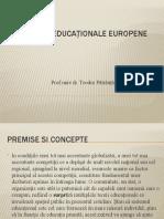 Politici educaționale europene