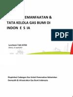 Potensi Pemanfaatan dan Tata Kelola Gas Bumi di Indonesia