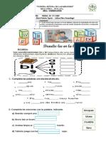 4. Ficha - Comunicación - Sílabas Br y Bl