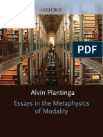 Plantinga, Essays in the Metaphysics of Modality