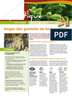Fiche PROPELLET 4 - Exigez granules certifies