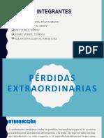 PÉRDIDAS EXTRAORDINARIAS