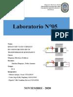 INFORME N°5 - LABORATORIO DE MAQUINAS ELECTRICAS