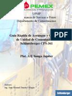 Guía Rápida Arranque y Operación de UAP CPS 361