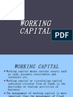 WORKING CAPITAL-ppt