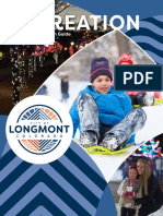Longmont Winter 2021 Recreation Online Search Guide
