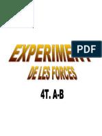 experiment de les forces 4tA-B