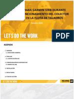 USO DE CAMARA PRUEBA COLECTOR DE POLVO EN TALADROS