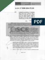 Resolución de inhabilitación por 3 años - Ahseco Perú S.A.