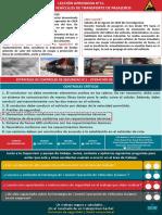 Lección Aprendida N°11 - Incendio en Vehículos de Transporte de Pasajeros.