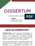 DISSERTUM GENERAL