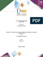 PORTADA DESARROLLO Actividad 3 - Observación de prácticas para el desarrollo del lenguaje en contextos de educación inicial