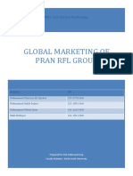 PRAN-International Marketing