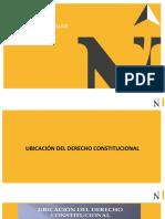 Ubicación y características del derecho constitucional (1)
