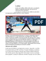 El softbol.docx