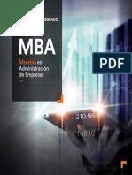 Brochure General Posgrado MBA