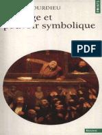 Langage et Pouvoir Symbolique (P Bourdieu)